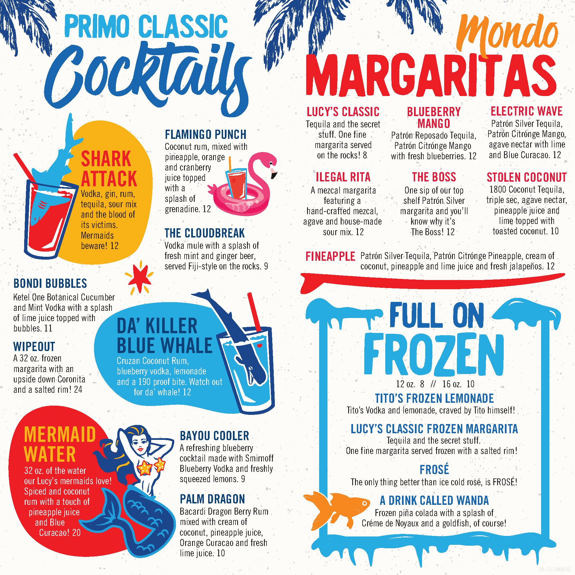 Lucy's Cocktail Menu - Page 2